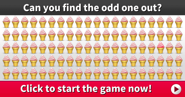 Can You Find The Odd One Out? It's Not Easy To Discover In 25 Seconds